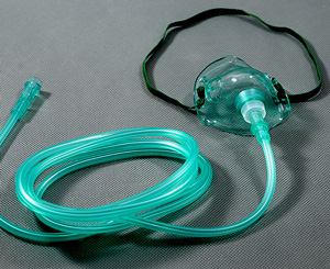 AMSure Medium Concentration O2 Mask w/ 7' Tubing, Adult