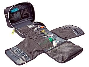 AIRWAY PRO Intubation Tri-Fold Module, TS2 Ready, Tactical Black ICB (Infection Control Bag)