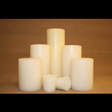 "9"" Vanilla Sandalwood Pillar"