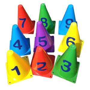 Numbered Color Cones