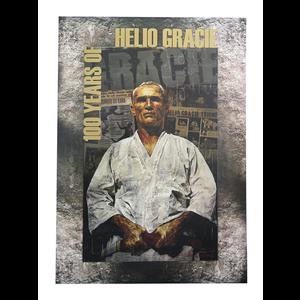 """Helio Gracie 100-Year Art (27x39"""")"""
