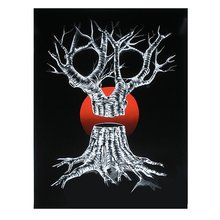 """Kinsey """"Red Barren"""" Signed Screen Print"""