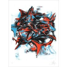 """Kinsey """"Sustain"""" Signed Screen Print"""