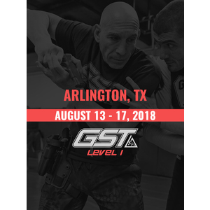 Level 1 Full Certification: Arlington, TX (August 13-17, 2018)