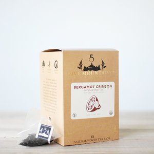Bergamot Black (Earl Grey): 15 Tea Sachets