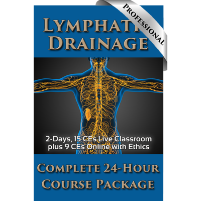 Lymphatic Drainage Professional Course Package