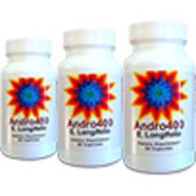 Andro400 MAX (3 Bottles)