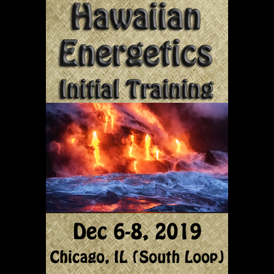 Hawaiian Energetics - Initial Training - Dec 6-8, 2019 Single Payment of